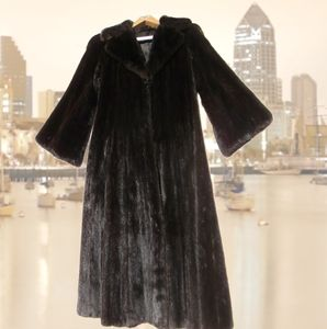 Jackets & Blazers - Full Length Ranch Mink Coat sz 4-6